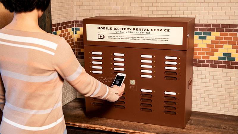 モバイルバッテリーレンタルサービスのイメージ
