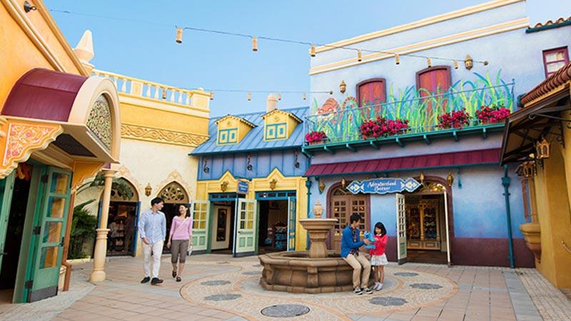 探险乐园市集的图像