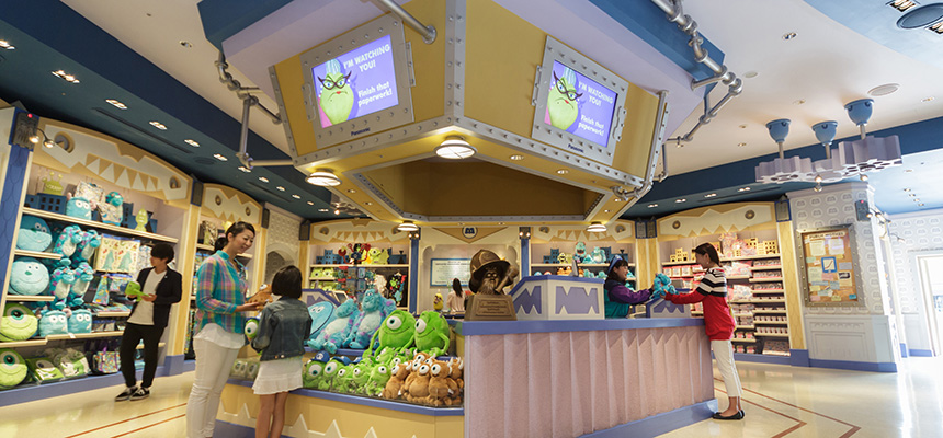 image of Monsters, Inc. Company Store1