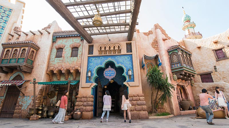 image of Agrabah Marketplace