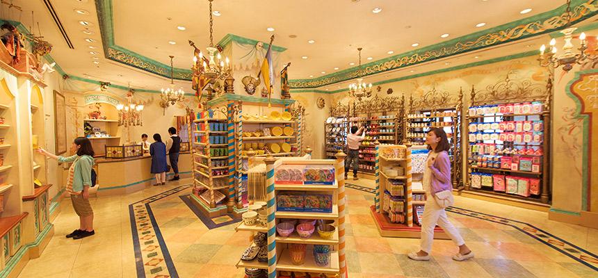 东京迪士尼海洋地图_[官方]威尼斯嘉年华市集|东京迪士尼海洋|东京迪士尼度假区