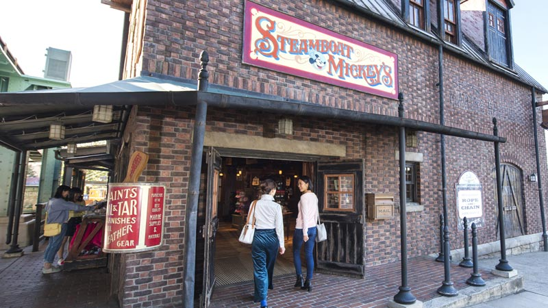 gambar Steamboat Mickey's