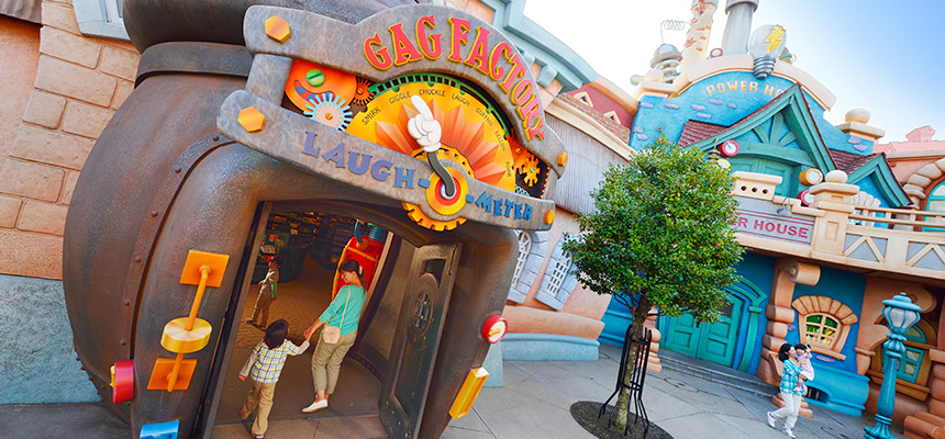 image of Gag Factory / Toontown Five and Dime1