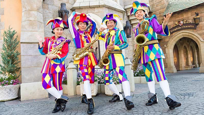 宫廷小丑四重奏的图像