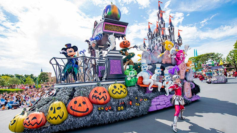 """gambar Spooky """"Boo!"""" Parade"""
