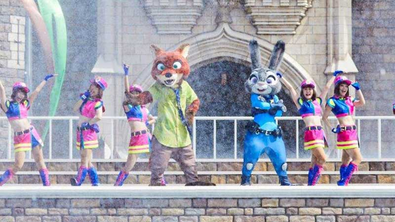gambar Judy and Nick's Jumpin' Splash