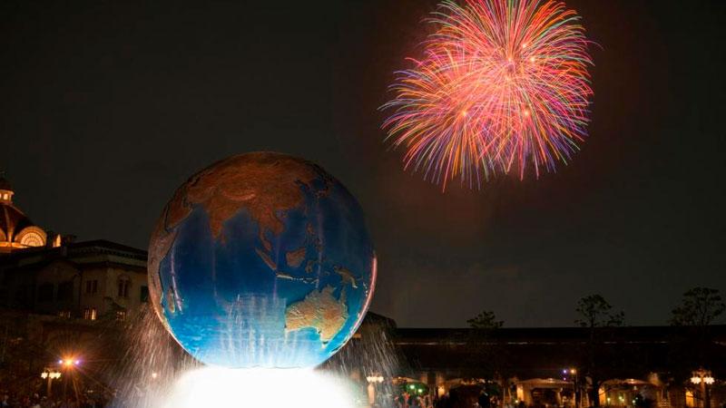 萬聖高空夜(東京迪士尼海洋)的圖像