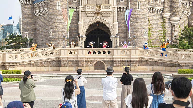 米奇和伙伴们城堡迎宾会的图像