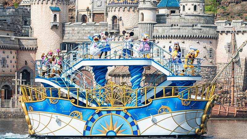image of Mickey & Friends Harbor Greeting