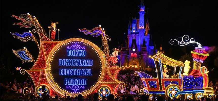"image of Nighttime Parade ""Tokyo Disneyland Electrical Parade Dreamlights""1"