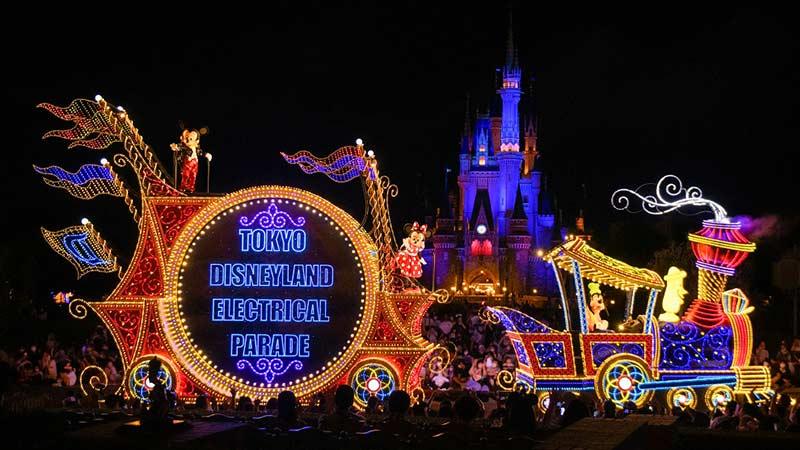 夜間遊行「東京迪士尼樂園電子大遊行~夢之光」的圖像