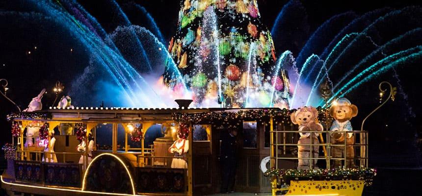 Colors Christmas.Official Colors Of Christmas Tokyo Disneysea Tokyo Disney