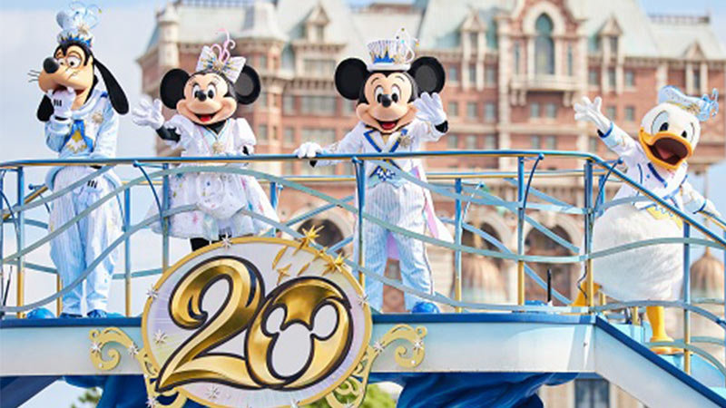"""image of Mickey & Friends Harbor Greeting """"Time to Shine!"""""""