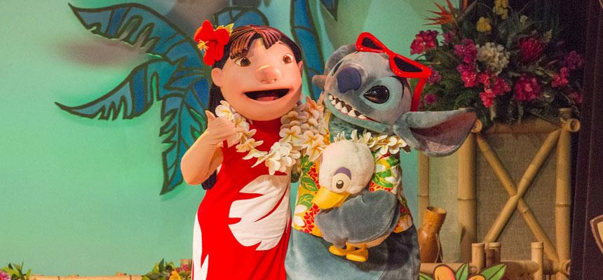 莉蘿的歡樂夏威夷聚餐的圖像3