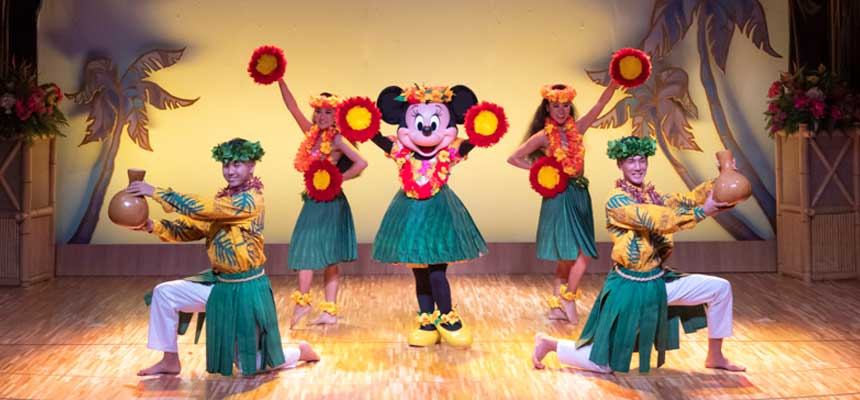 image of Mickey's Rainbow Luau2