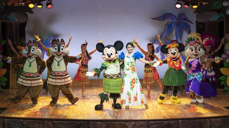 gambar Mickey's Rainbow Luau