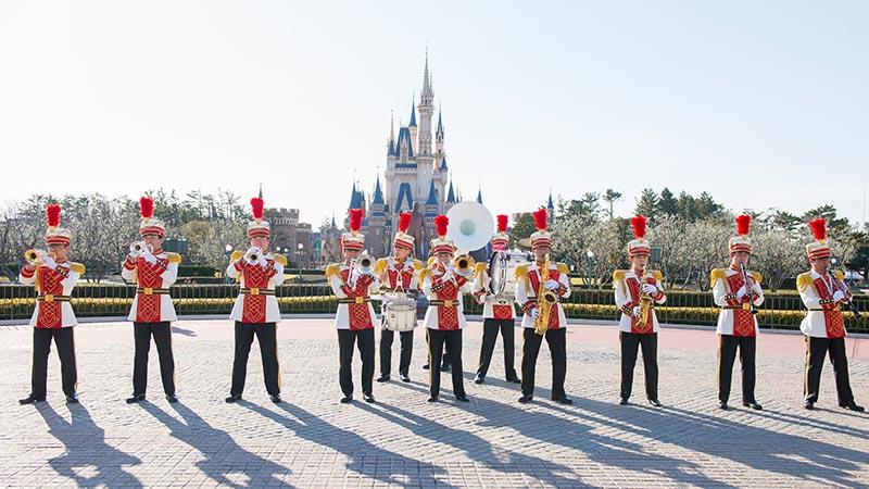 东京迪士尼乐园大乐队的图像