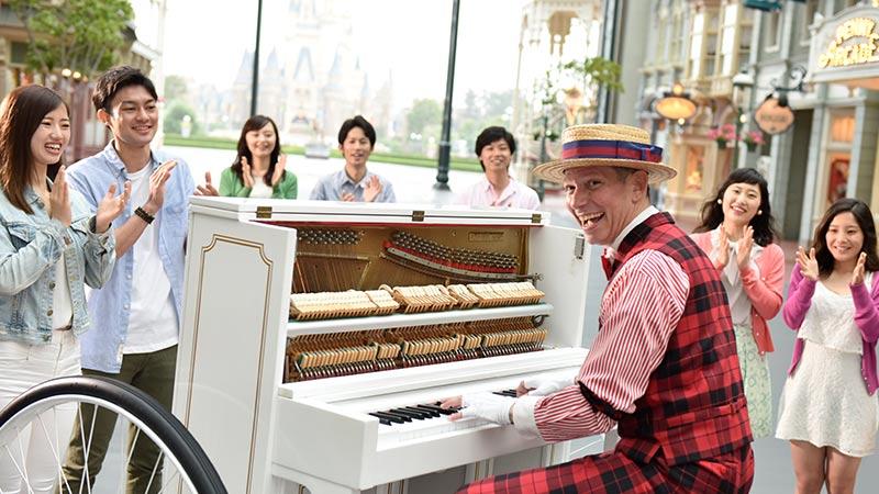 バイシクルピアノのイメージ