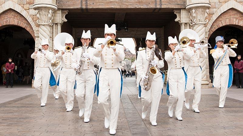 東京迪士尼海洋濱海樂團的圖像