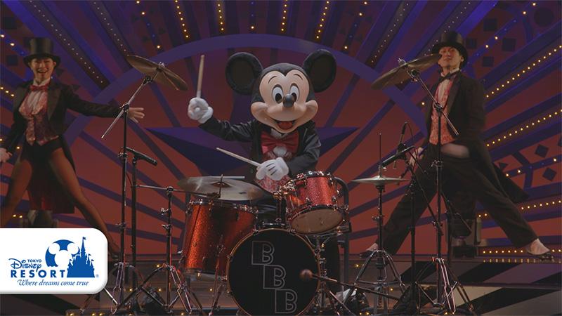 東京ディズニーシー「ビッグバンドビート~ア・スペシャルトリート~」の動画を公開しました。のイメージ