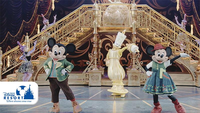 東京ディズニーランド「ミッキーのマジカルミュージックワールド」の動画を公開しました。のイメージ