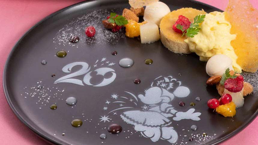 東京ディズニーシー・ホテルミラコスタの「20周年スペシャルメニュー」を公開しました。のイメージ