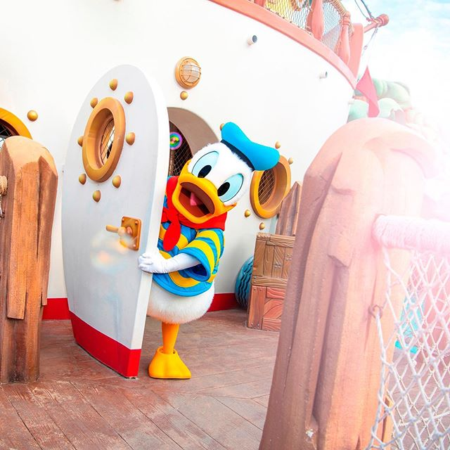 Happy Birthday Donald!ドナルド、お誕生日おめでとう!#happybirthdaydonald #donaldduck #donaldsboat...的圖像