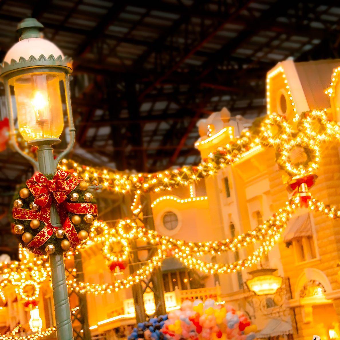 Switch on the magic! あかりが灯りはじめる時間✨ #christmasillumination #worldbazaar...のイメージ