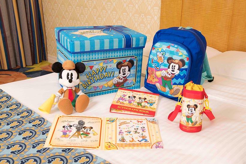 お子さまの誕生日のお祝いには、ディズニーアンバサダーホテルのスペシャルキッズバースデーがおすすめ♪お部屋にアイテムが事前にセットされるので、サプライズでのお祝いにぴったり!1...のイメージ