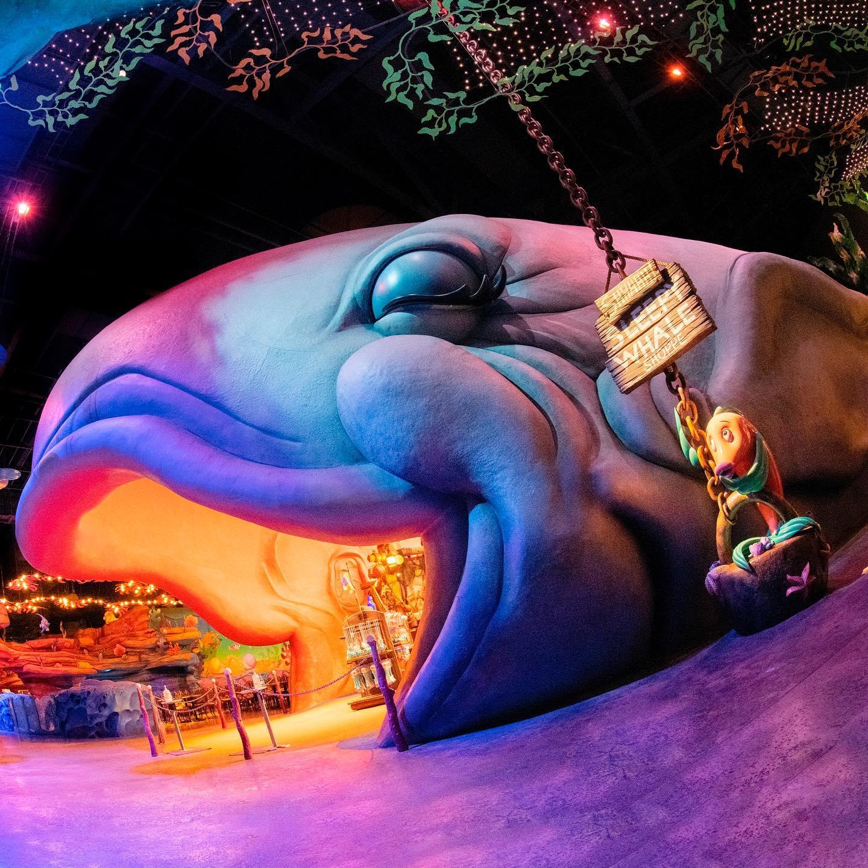image of Please be quiet...Zzz… すやすや・・・にこにこ・・・Zzz・・・ #thesleepywhaleshoppe #mermaidlagoon #whale...