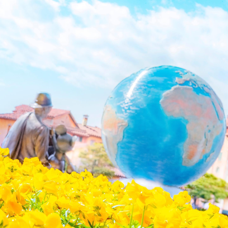 Happy sunny day! 心もぽかぽか☀️ #disneyseaaquasphere #aquasphere #disneyseaplaza...的圖像
