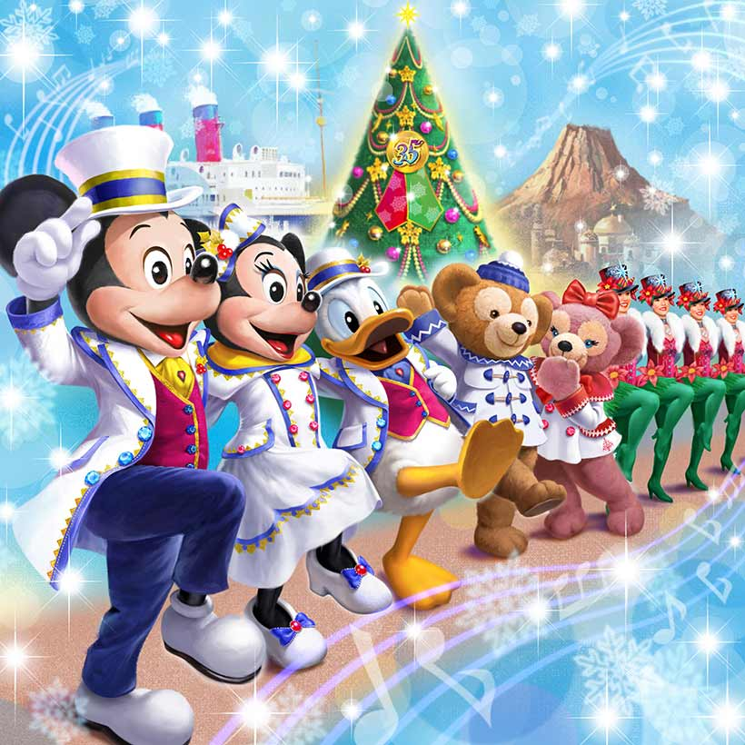 【ニュース!】東京ディズニーリゾートでは、11月8日(木)~12月25日(火)の期間で「ディズニー・クリスマス」を開催!東京ディズニーシーではテーマを新たに、今年初開催の本格...のイメージ