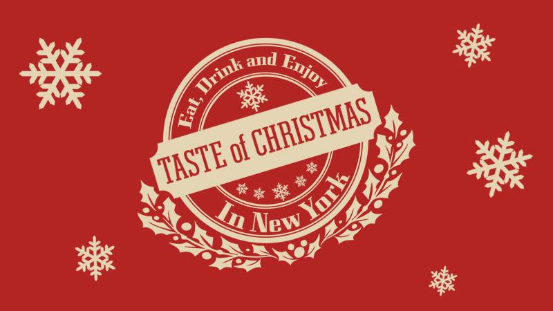 「テイスト・オブ・クリスマス」を公開しました。のイメージ