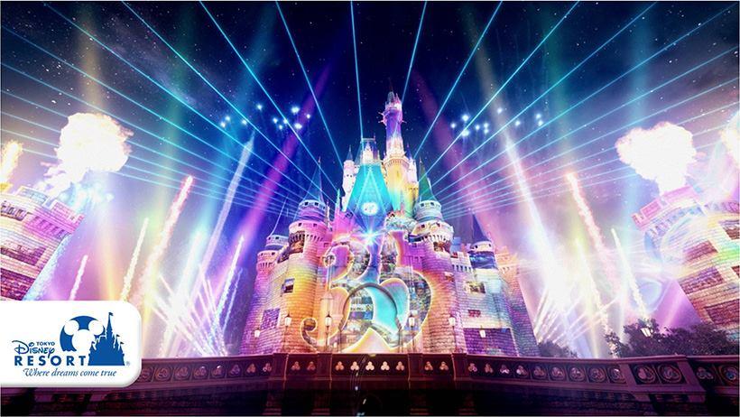 【この夏、東京ディズニーランドの夜が生まれ変わる】かつてないスケールが魅力的な、新ナイトタイムスペクタキュラー「Celebrate! Tokyo...のイメージ