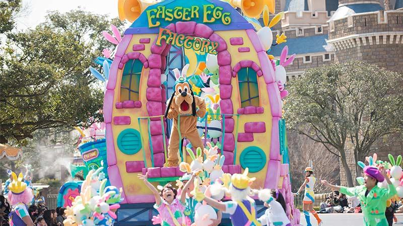 東京ディズニーランド「ディズニー・イースター」を公開しました。のイメージ