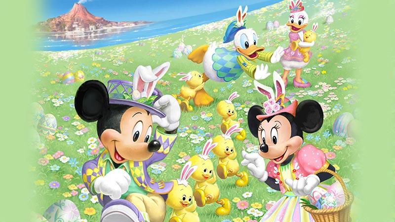東京ディズニーシー「ディズニー・イースター」を公開しました。のイメージ