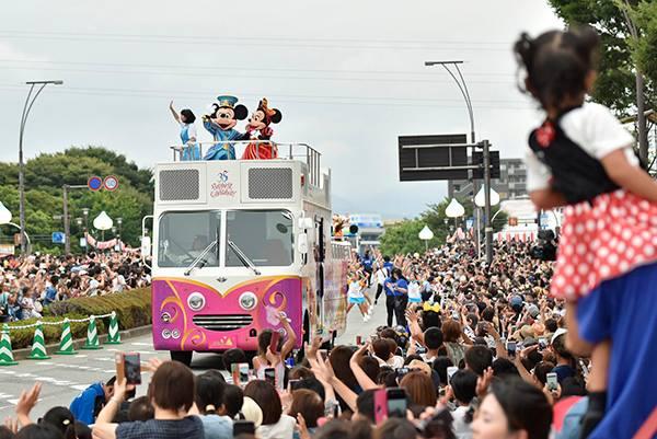【 #ミッキーたちがやってきた 富士まつり2018】3月24日からスタートした「 #東京ディズニーリゾート35周年 スペシャルパレード」も、本日の静岡県...のイメージ