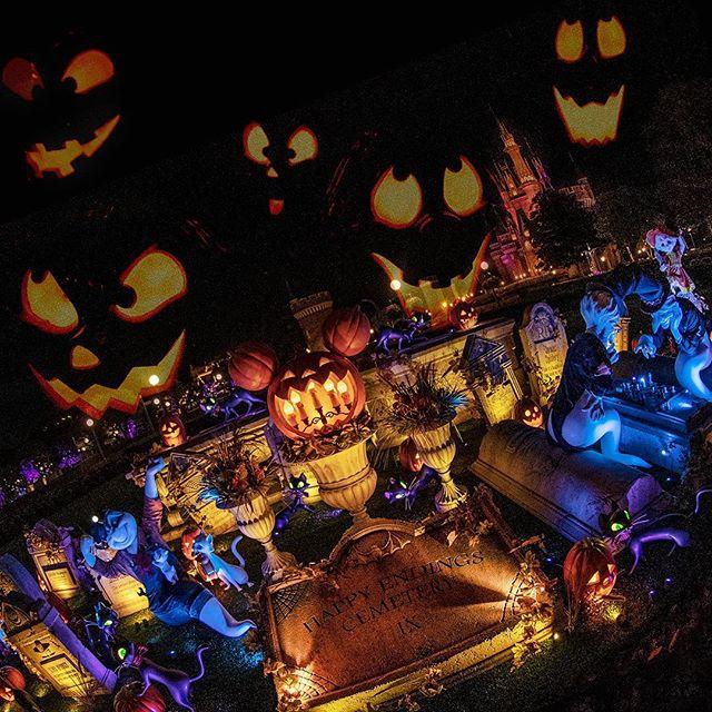 image of Spooky Halloween… Boo!奇妙な世界#disneyshalloween #cinderellacastle #tokyodisneyland...