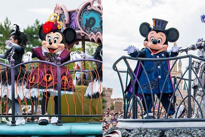 """【ミッキーやミニーもゴーストに大変身!】東京ディズニーランドに初登場のパレード「スプーキー""""Boo!""""パレード」では、ゴーストたちが""""ゴースト流の東京ディズニーランド""""にみな...のイメージ"""