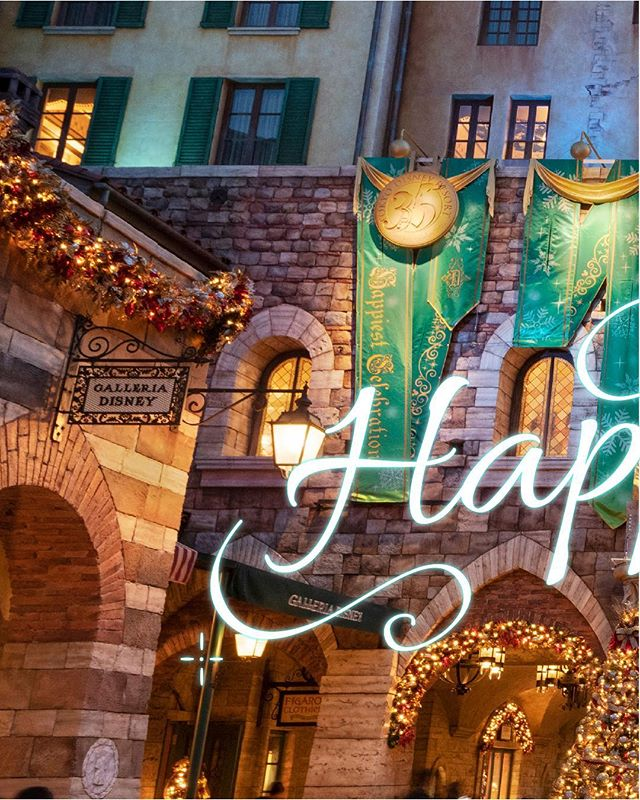 image of Happiest time of the year!ここからはじまる、スペシャルなクリスマス!#disneychristmas #tokyodisneysea...