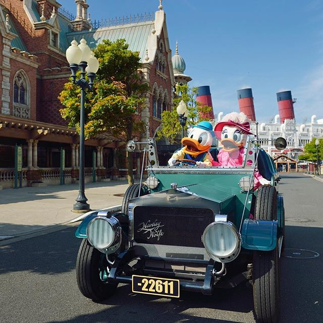 Let's go for a drive!ドライブデート♡#daisyscreendebut #americanwaterfront #tokyodisneysea...のイメージ