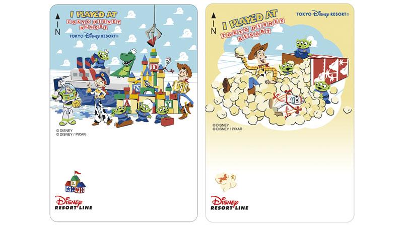ディズニーリゾートラインでは、「ファンタイム・ウィズ・トイ・ストーリー4」デザインのフリーきっぷを販売中です。(2019年6月14日~)のイメージ