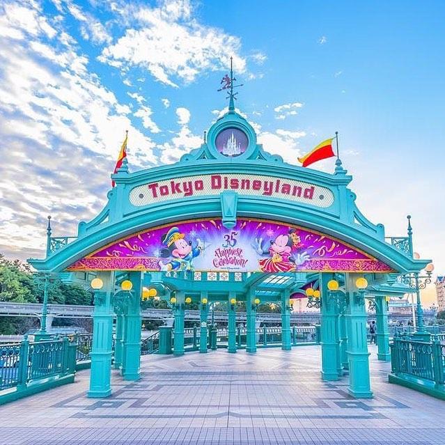 ภาพ Gateway to Tokyo Disneyland!ここを通るとワクワクする♪(Photo:@dis.non_1923)#tokyodisneylandgateway...