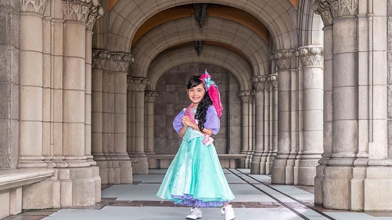 「ビビディ・バビディ・ブティック」情報更新しました。~プリンセスドレスのラインナップにアリエルが仲間入り!~のイメージ