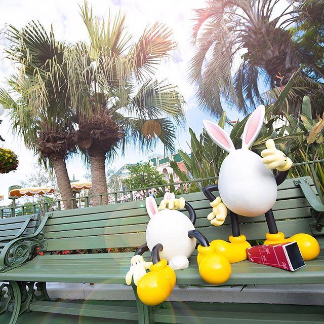 Are you full!?ポップなイースター、楽しんでる?#disneyseaster #usatama #tokyodisneyland...のイメージ