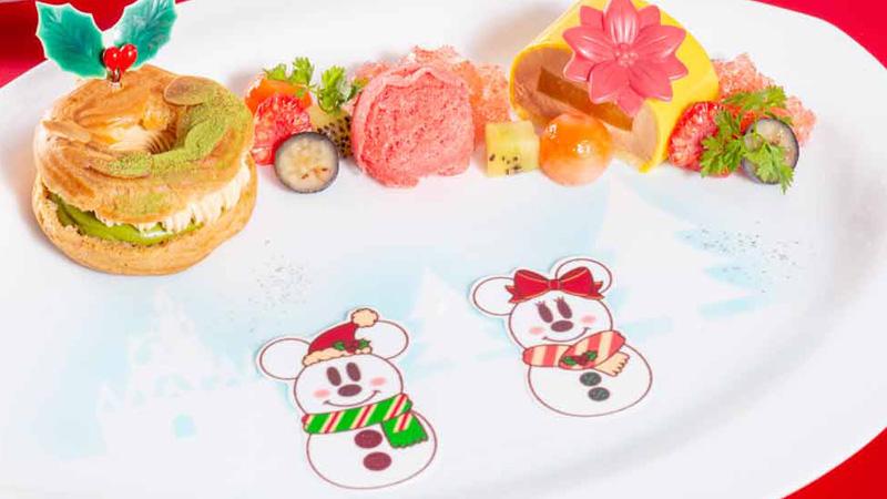 東京ディズニーランドホテルのクリスマス限定メニューを公開しました。のイメージ