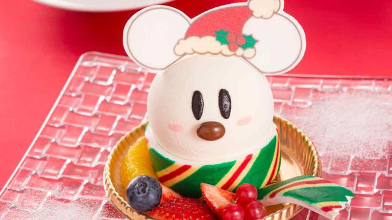 ディズニーアンバサダーホテルのクリスマス限定メニューを公開しました。のイメージ