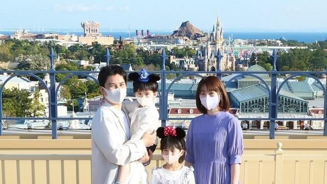 新規宿泊プラン「東京ディズニーランドホテル フォトツアー付き宿泊プラン」を公開しました。のイメージ