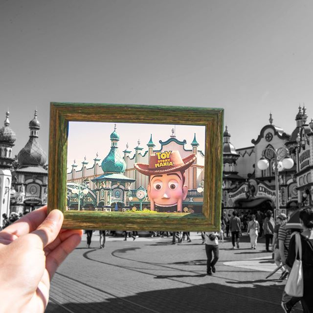 Let's take a look!おもちゃの世界を覗いてみると・・・#toystorymania #americanwaterfront #tokyodisneysea...的图像