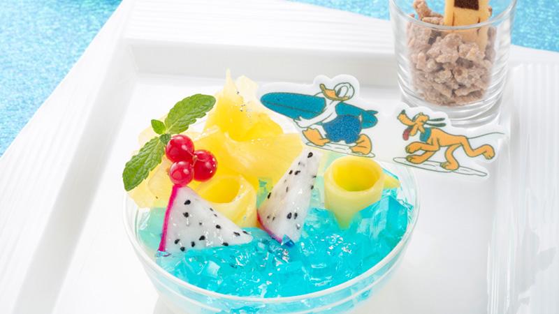 ディズニーアンバサダーホテルの「夏の限定メニュー」を公開しました。のイメージ